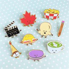 Cute cartoon series Enamel Pins
