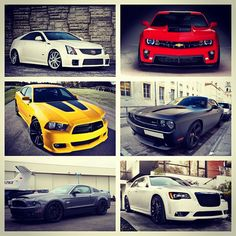 All American supercar collage which would you take?