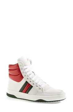 b82a46753 Gucci 'Ronnie' High Top Sneaker (Women) available at #Nordstrom Gucci High