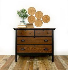 Antique Walnut + Java Gel Stain Dresser | General Finishes Design Center