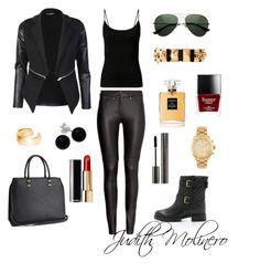"""Soooo Judy"" by judith-molinero-fashion on Polyvore featuring Kate Spade, Chanel, H&M, Alexander McQueen, Dutch Basics, Bridge Jewelry, Michael Kors, GAB and Butter London"