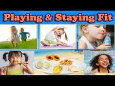How to Keep Your Body Clean, Eat Healthy & Stay Fit With Exercise - Learning Game for Kids - YouTube The video interactively explains clearly about health habits and uses apt narration on staying healthy