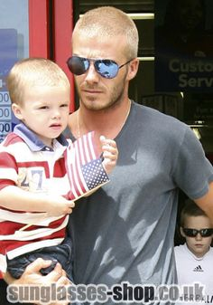 david beckham mirrored aviators - Google Search