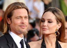 Brad Pitt and Angelina Jolie| his smilee