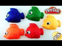 Play-Doh Fish Lalaloopsy Angry Birds Maya the Bee Toy Story Pig Jungle b...