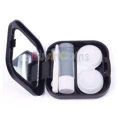 Eyewear Accessories 1 Set Contact Lens Box Cute Cactus Square Mirror Portable Travel Eyes Care Container Storage Kit Organizer Tools Lens Box Do You Want To Buy Some Chinese Native Produce?