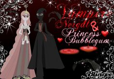 Vampire Nergal And Steampunk Princess Bubblegum