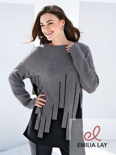 Kuschelig die kalten Tage überstehen mit dem Pullover von Emilia Lay!