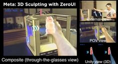Augmented Reality, Unity, Sculpting, 3d Printing, Html, Prints, Medicine, Templates, Industrial Revolution