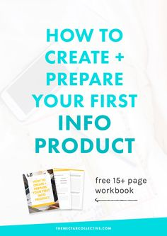 "Thinking about turning your passion + knowledge into a business? Check out Melyssa Griffin's fantastic new post on ""How to Create and Prepare Your First Info Product"" --"