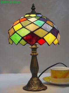 Grid Tiffany Lamp8S9-35T305