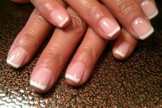 Light Elegance gel: Baby Pink Extreme gel with Perfect white French