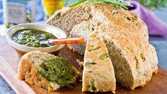 Recept på lantbröd med oliver, honung och havssalt som är enkelt att lyckas med !