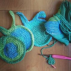 Greens and blues! So loving these new #easterbunny #coasters. Soon available for purchase at #handmadeatamazon #amazonhandmade #geekirumishop    .  #easter #spring #rabbit #bunny #crochetlife #ilovecrochet #crocheting #crochetaddict #crochetlove #crochetersofinstagram #crochetingisfun #instacrochet #crocheted #crochetgifts #crochet #handmade #amazonfinds #amazonmakers #amazonartisan #amazongift #amazon #handmadegifts #handmadewithlove #giftideas #handmadegifts by geekirumi