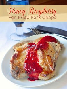 Pan Fried Pork Chops - A 30 minute meal that impresses; Juicy, seared ...