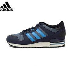 39a6503f2e7d Men s Adidas Originals ZX 700 Shoes Stonewash Blue Solar Blue Collegiate  Navy M18250