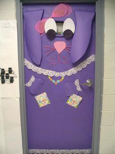 kindergarten door for easter @brendaweaver