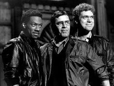 Eddie Murphy, Jerry Lewis & Joe Piscopo.