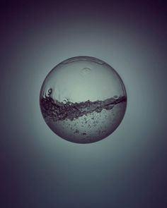 """""""Day & Night"""" is a Project by Owen Silverwood, a still life and conceptual photographer based in London. Bubble Drawing, Magic Realism, Water Element, Soap Bubbles, Star Tattoos, Tatoos, Soap Molds, Still Image, Artsy Fartsy"""