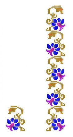 Cross Stitch Geometric, Cross Stitch Borders, Cross Stitch Rose, Cross Stitch Flowers, Cross Stitch Charts, Cross Stitch Designs, Cross Stitch Embroidery, Cross Stitch Patterns, Graph Design