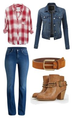 """""""Untitled #235"""" by princesssheryl1 on Polyvore featuring JustFab, LE3NO and MANGO"""