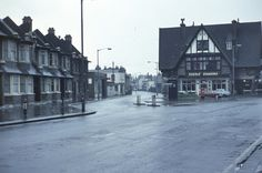 Blue Anchor pub fom Brighton Road towards Southbridge Road South Croydon 1969