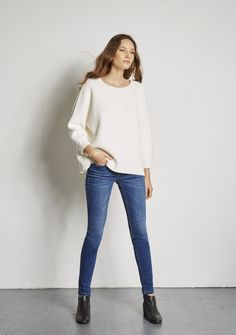 Nouvelle Collection PULL OXANE OFF WHITE - Ekyog