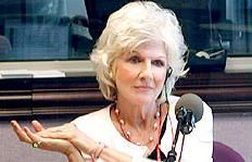 Diane Rehm.  If you have never heard her show, seek it out on NPR.  it is consistently the most interesting show on radio or TV
