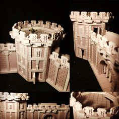 Tower assembly dry fit complete. The whole project took maybe 6 hours from conception and design to this stage (tower only). I need to tweak a few minor items. Over all it worked out very well. #mordheim #dnd #pathfinder #warhammer #terrain #frostgrave #cnc #malifaux www.goblinfoundry.ca www.facebook.com/goblinfoundry
