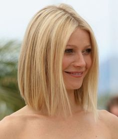 gwyneth's perfect long bob