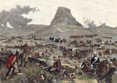 22 January 1879 n South Africa, a Zulu army led by Ntshingwayo kaMahole Khoza annihilated a British detachment in the Battle of Isandlwana while Prince Dabulamanzi kaMpande was repulsed on the same day during his attack on Rorke's Drift. Military Art, Military History, Military Photos, Age Of Empires, Historical Artifacts, British Colonial, British Army, African History, Warfare