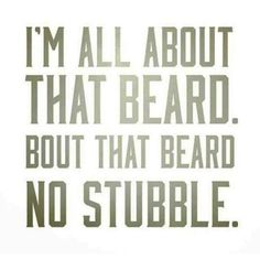 Let me show you why I'm all about the beard...  http://januaryharshe.com/2014/11/11/all-about-that-beard/