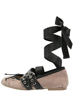 KMB ARMIN Riemchenballerina taupe von: KMB @zalando.de - Schuhe und Fashion online