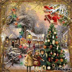Oude Kerstplaatjes 3 / Oude Kerstplaatjes | Kerstanimations-van-francisca.nl