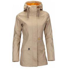 Woox Nella Ladies´ Parka Sand dámský kabát  75e812d4ec