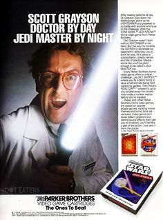 Wouldn't want to see him coming at your appendix like this (1983) #MayThe4thBeWithYou #bitstory
