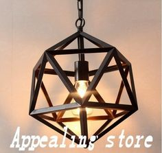 1_conew1 Cheap Pendant Lights, Pendant Lighting, Chandelier, New Nordic, Nordic Style, Industrial Irons, Vintage Industrial, Light Strawberry Blonde, Geometric Pendant Light