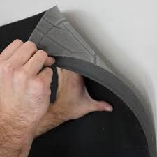 Quiet Barrier™ HD soundproofing composites stop sound from entering or leaving a space. the foam composites come in a variety of weights and thicknesses. Studio Soundproofing, Soundproofing Material, Home Detox, Insulation Materials, Pipe Insulation, Sound Absorption, Sound Absorbing, Home Remodeling Diy, Acoustic Panels