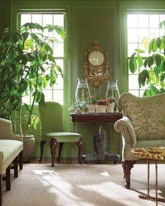 Martha's Home: Decorating with Houseplants   Martha Stewart