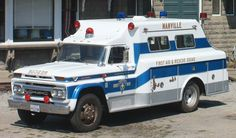 1965 GMC Black Built Body Rescue Squad was in service in Manville NJ up to 2004