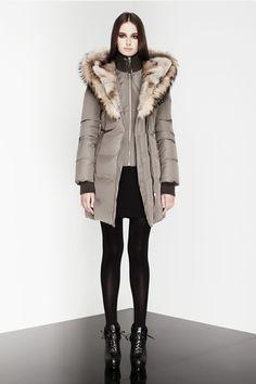 Mackage Trish Fur Collar Down Coat Winter Coats Women, Coats For Women, Jackets For Women, Winter Jackets, Womens Parka, Beige Sweater, Down Coat, Winter Sweaters, Sweater Jacket