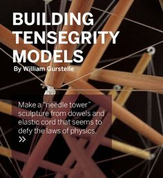 building tensegrity models