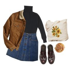 Unbenannt #319 by luisaxx on Polyvore featuring Gap and Dr. Martens