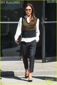 Victoria Beckham Gets Back to Business After UN Conference | victoria beckham gets back to business 09 - Photo