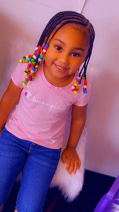Little Black Girls Braids, Black Little Girl Hairstyles, Black Kids Braids Hairstyles, Little Girl Braid Styles, Toddler Braided Hairstyles, Girls Natural Hairstyles, Baby Girl Hairstyles, Braids For Girls, Little Girl Swag