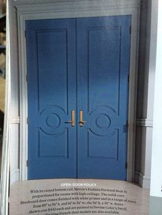 Dying for these doors - shockingly only $442 each | metrie.com