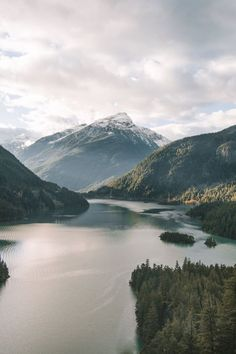 Diablo Lake - Morgan Phillips