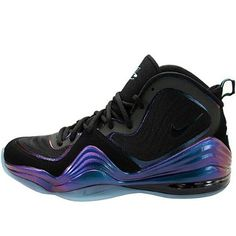 Nike Mens Air Penny V Black Purple Teal 537331-002 10.5 Nike. $113.50