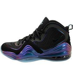 Nike Mens Air Penny V Black Purple Teal 537331-002 10.5 Nike. $113.50