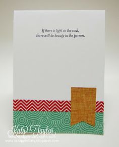 An Inside to my Heart...: Illuminate Blog Hop... #SparkleAndShineWashiTape - card inside